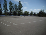 Bring your tennis rackets along and enjoy our on-site tennis courts!